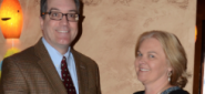 Tim Haas and Helen Brickfield
