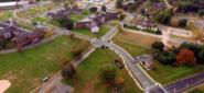 Fairfield Hills Aerial View, Newtown, CT